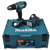 Makita Akku-Schlagbohrschrauber 18 V , 1,5 Ah inklusive Akku-Lampe, DHP453RYLJ - Test